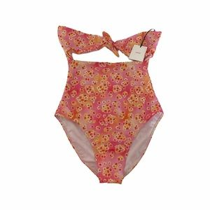 Onia Maria Floral One Piece Swimsuit